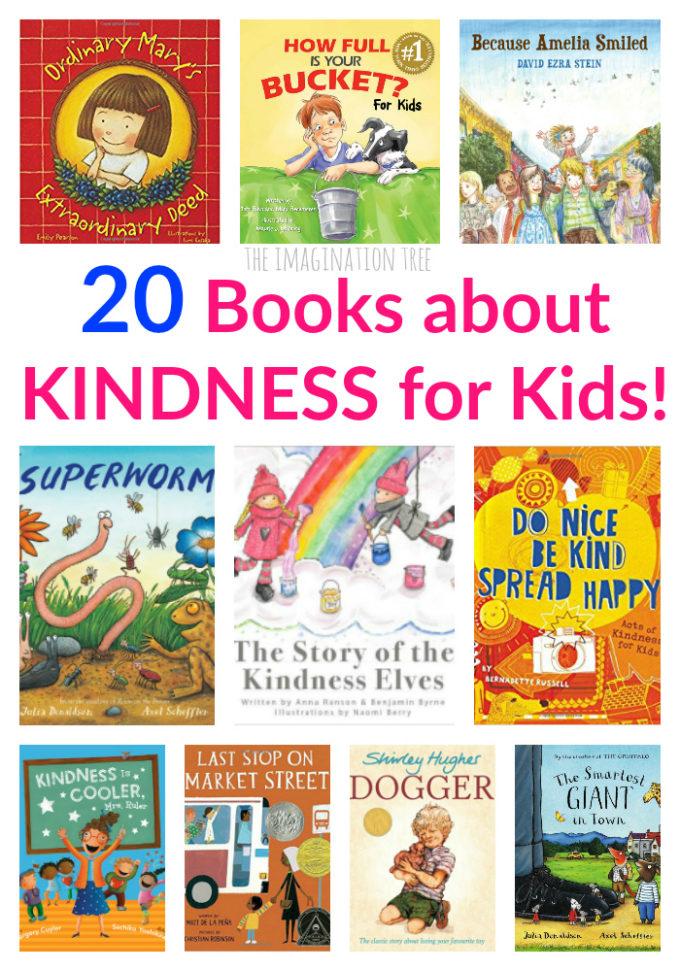 Best books about kindness for kids!