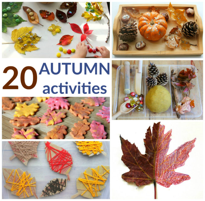 The Best Autumn Activities For Kids The Imagination Tree