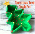 Christmas Tree Pinch Pot
