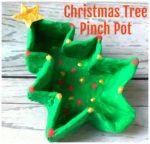 Christmas Tree Pinch Pot