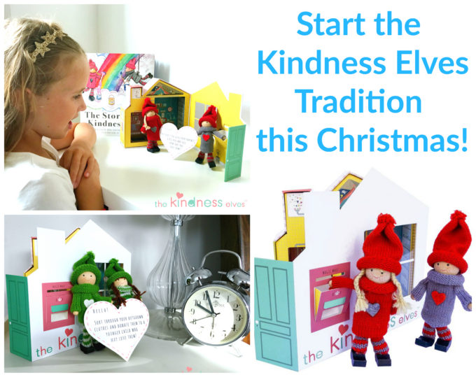 Start the lovely Kindness Elves tradition with your family this Christmas!