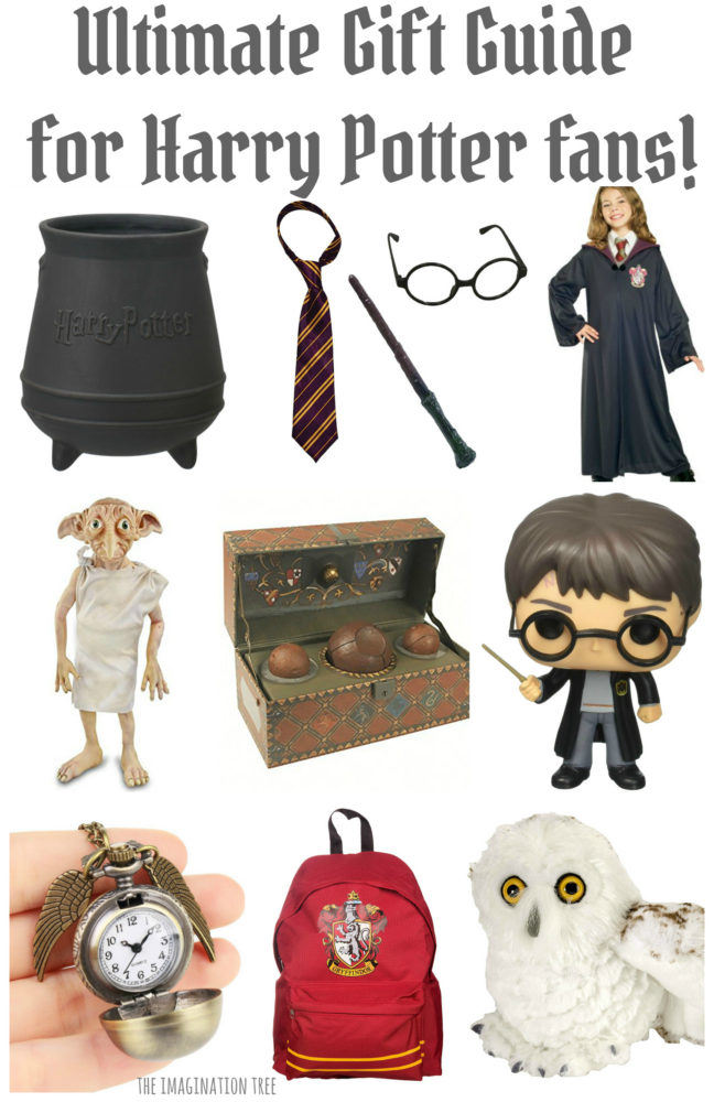 The best Harry Potter Gift Guide for Kids and young Adults!