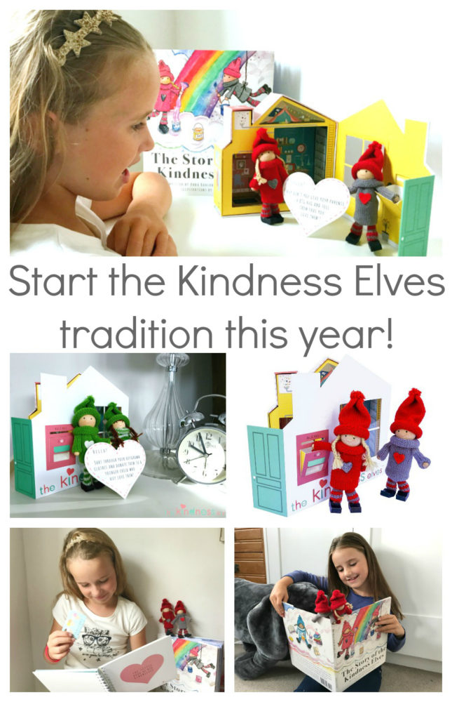 Start a meaningful and magical tradition with your kids this Christmas, with the Kindness Elves!