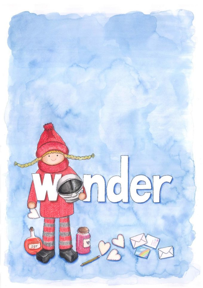 Wonder and the Kindness Elves Collaboration