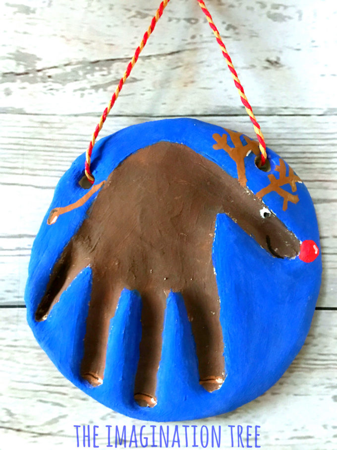 Rudolph Salt Dough Keepsake!