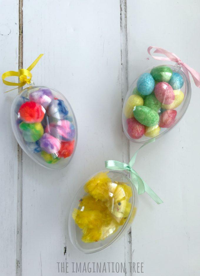 Easter Sensory Eggs