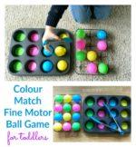 Toddler Colour Match Ball Game