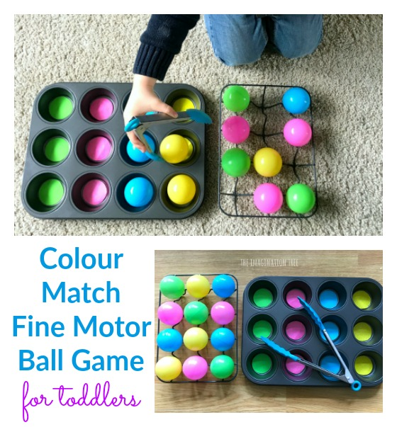 Toddler Colour Match Ball Game