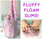 Fluffy Floam Slime Recipe