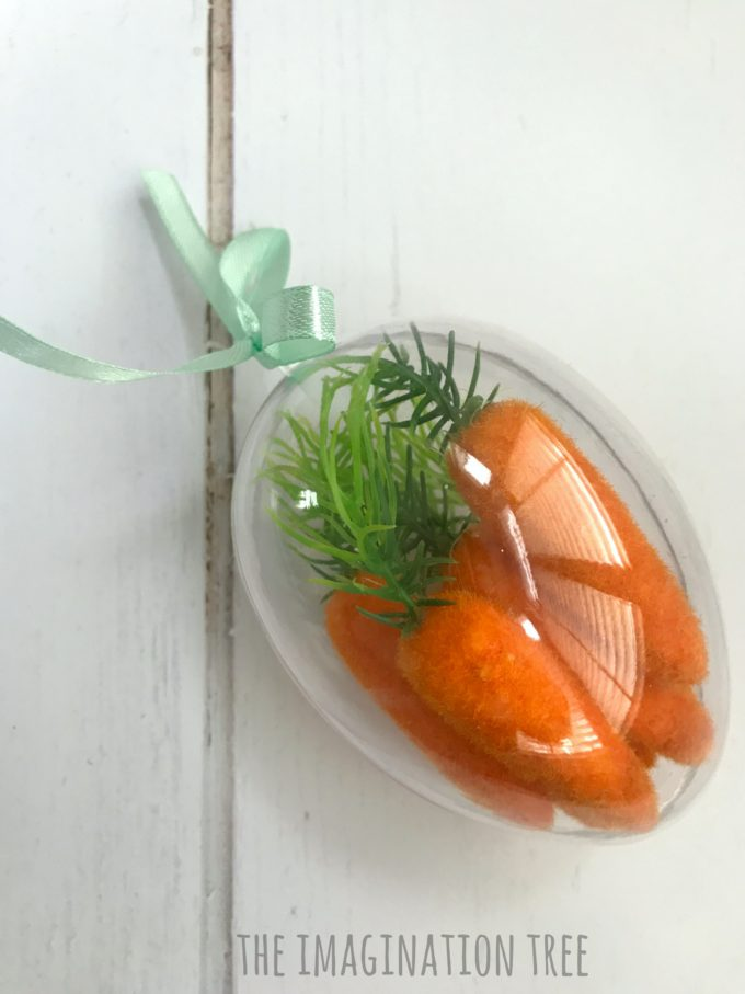 Carrot Easter Sensory Eggs
