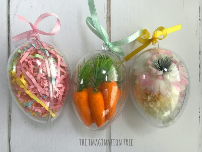 Baby and Toddler Easter Sensory Eggs