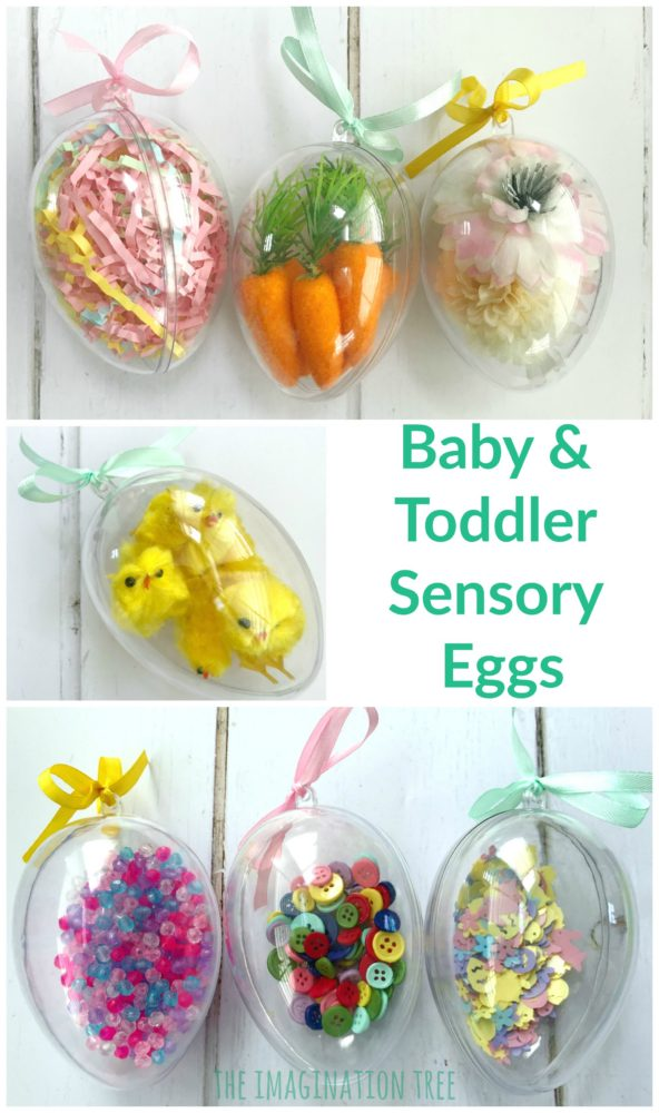 DIY Easter Sensory Eggs Alternative Gift for Toddlers