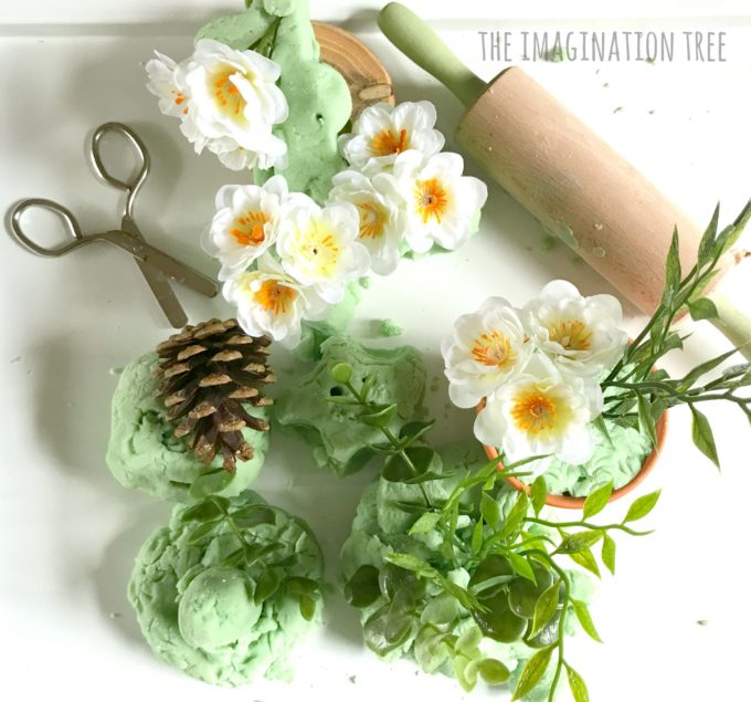 All natural calming Eucalyptus play dough
