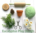Calming Natural Eucalyptus Play Dough