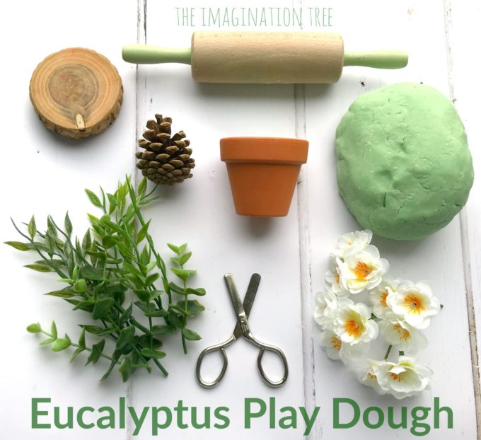 Natural Eucalyptus Play Dough for Healthy Screen Free Play!