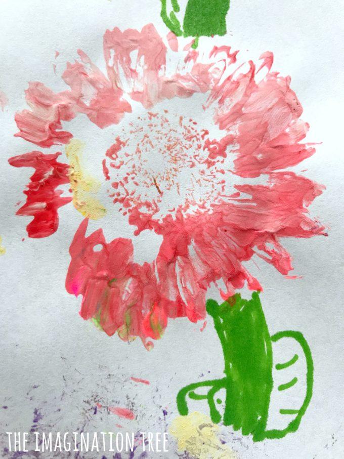 flower print art the imagination tree