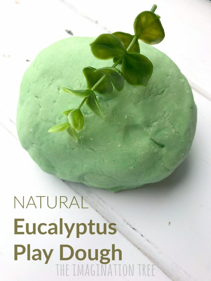 Natural Eucalyptus Play Dough Recipe