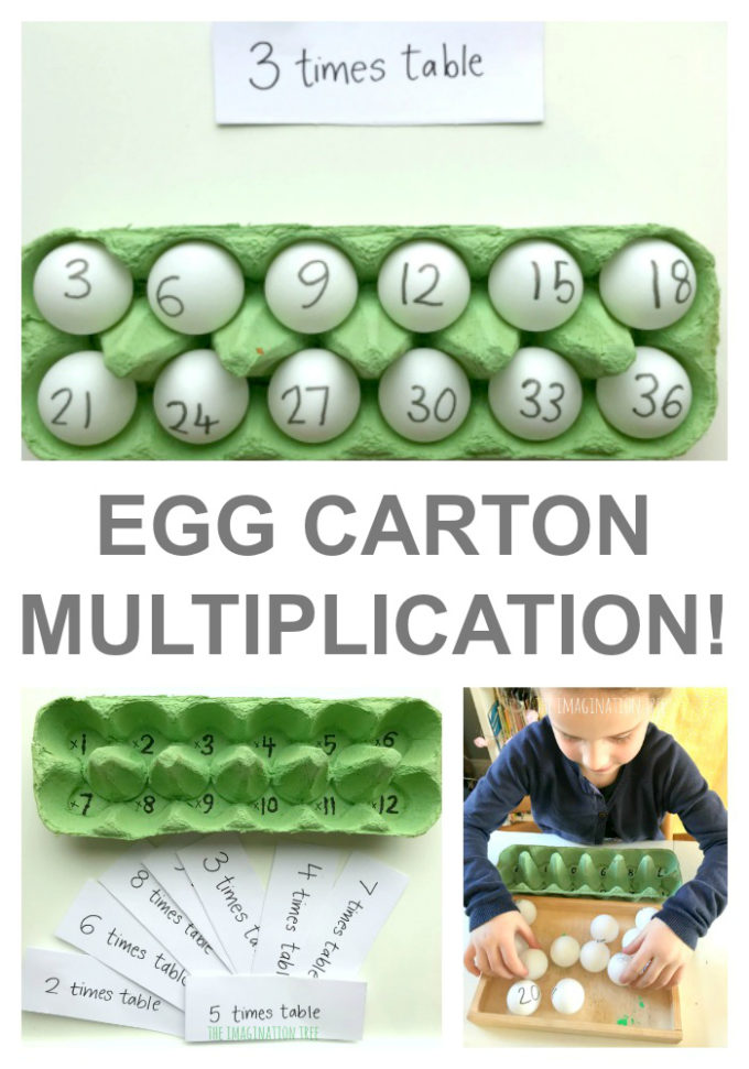 Fantastic Egg Carton Multiplication Game!