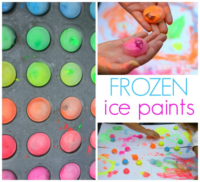 Frozen Ice Paints