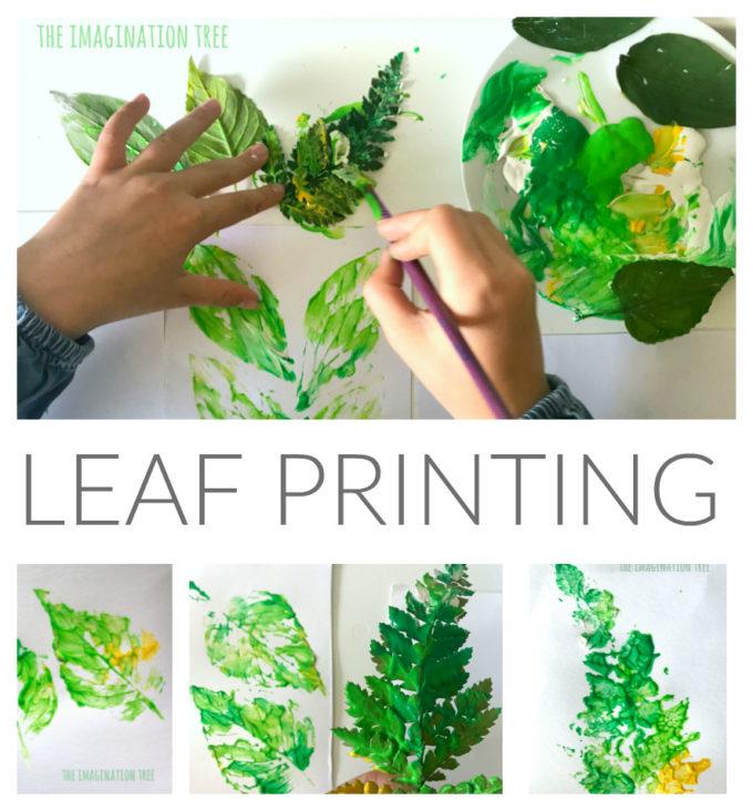 Leaf Printing Art