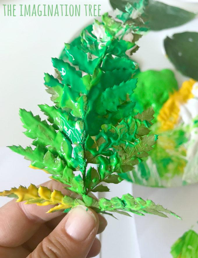 Leaf Printing Art - The Imagination Tree