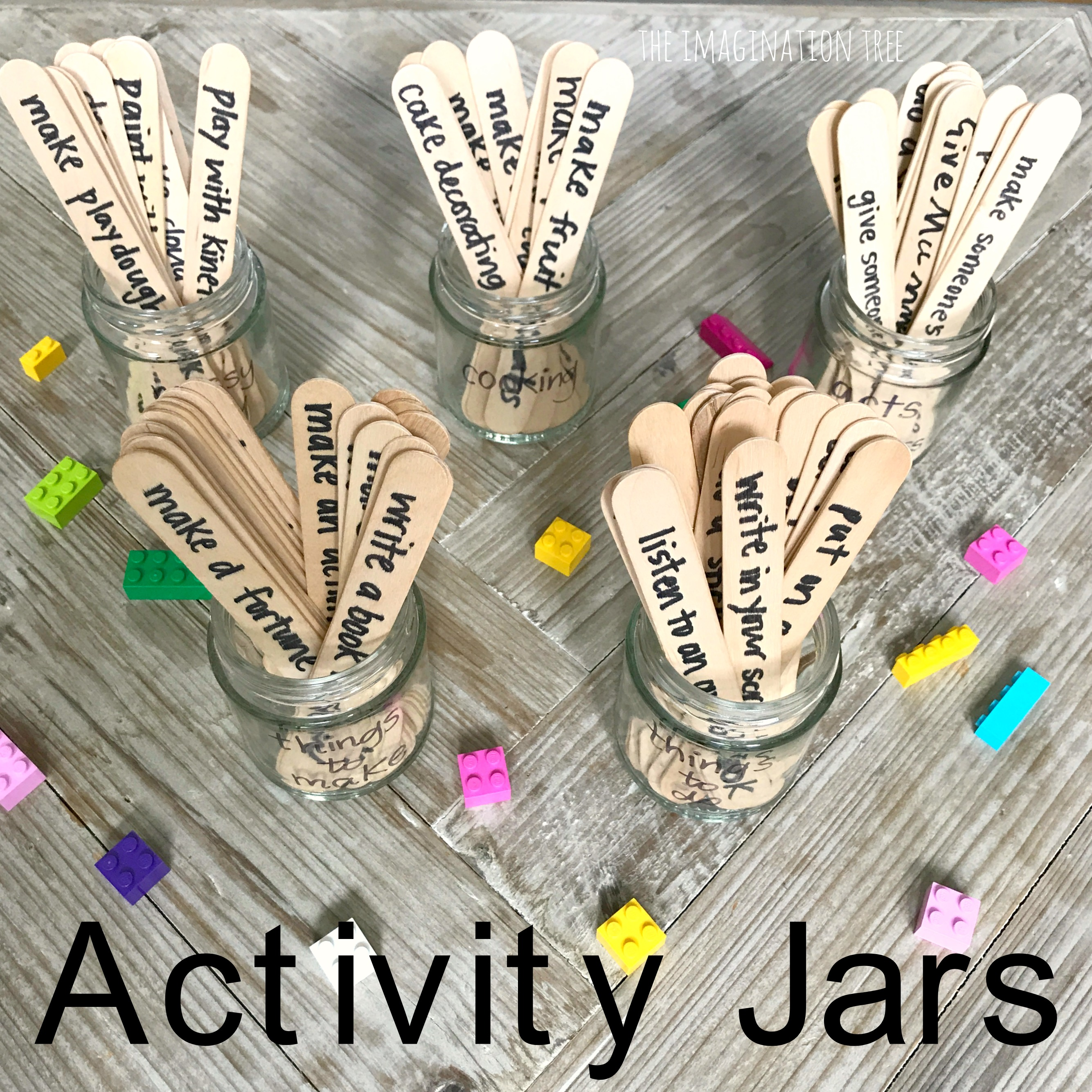 Activity Jars For Busy Kids The Imagination Tree