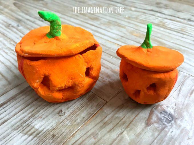 Pumpkin Pinch Pots Activity