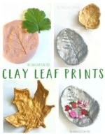 Clay Leaf Print Art