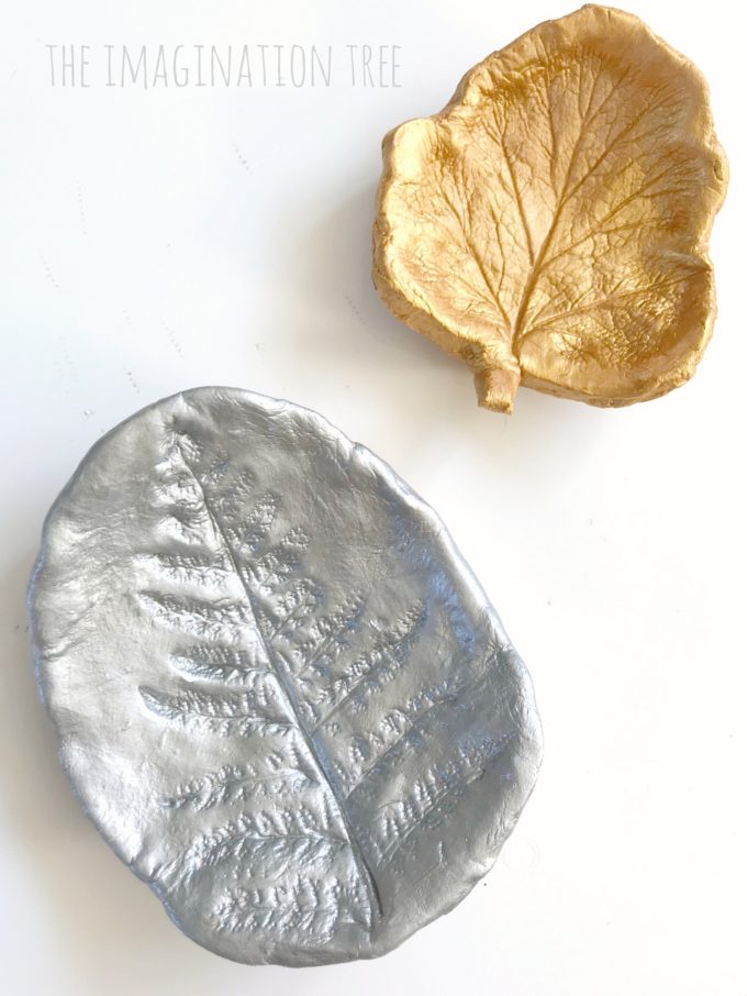 Let's make clay leaf print art bowls