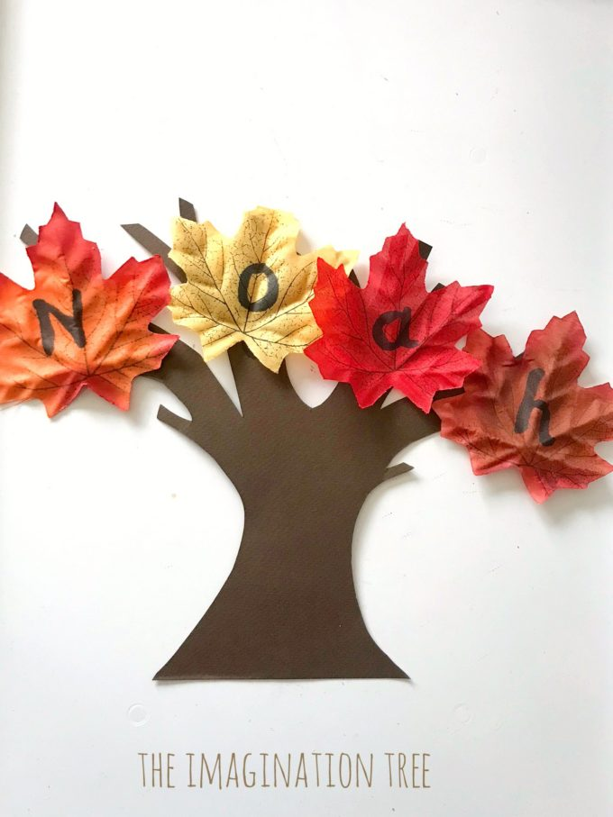 Autumn name learning game