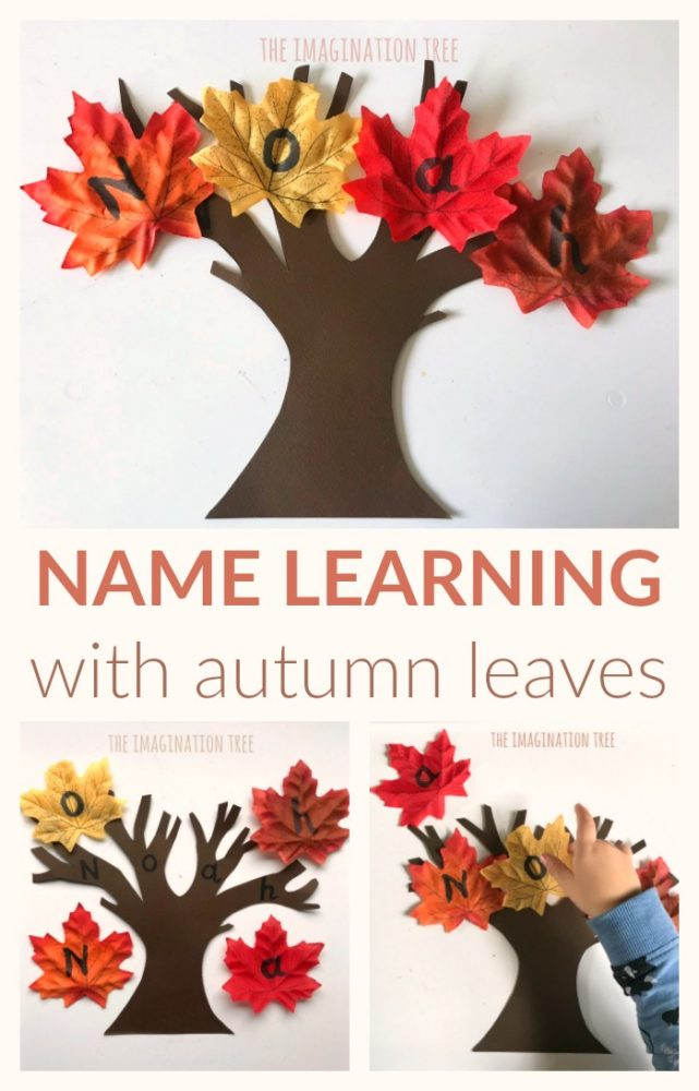 Name learning game for kids!