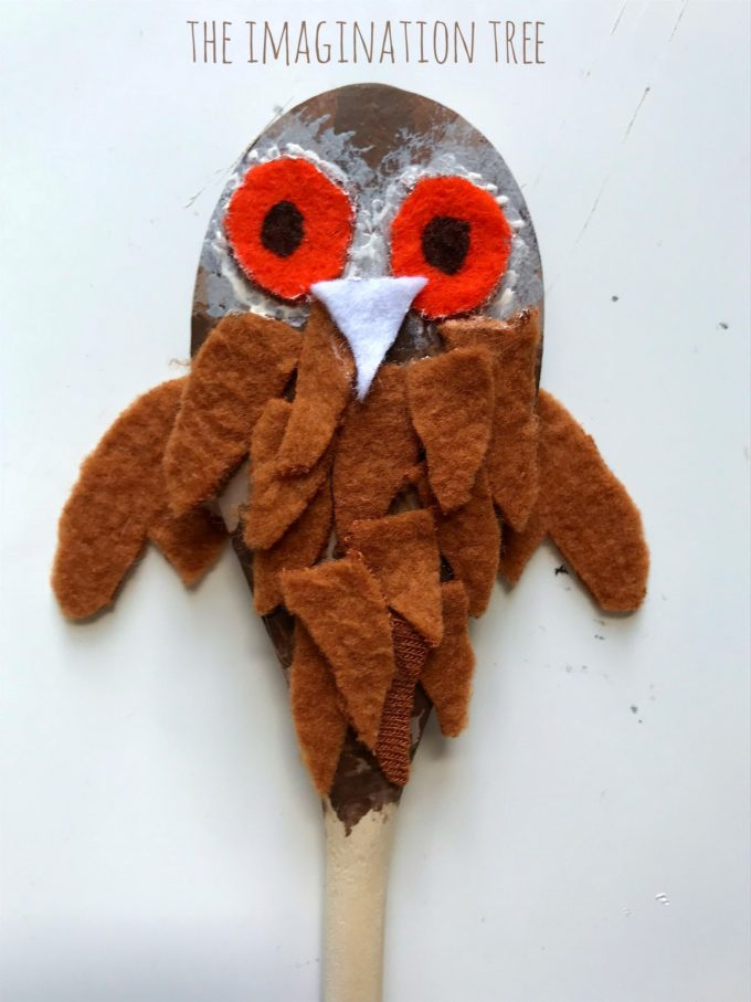 Owl Babies Story Spoons - The Imagination Tree