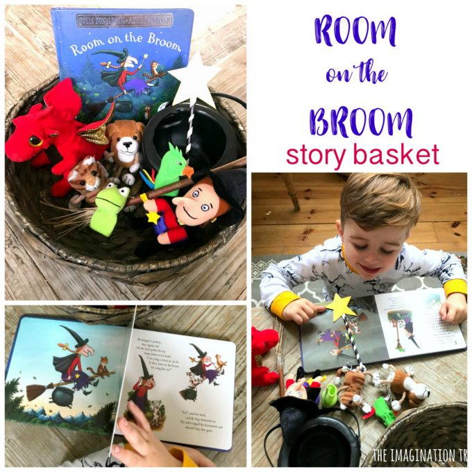 Room on the Broom Story Basket