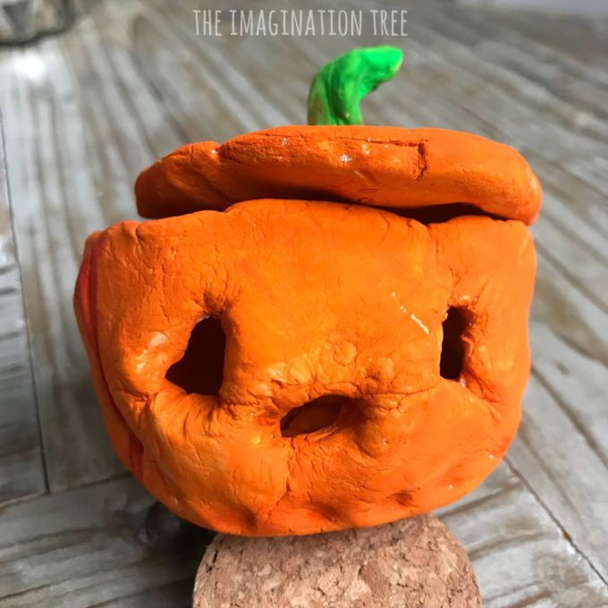 Pumpkin Pinch Pots Craft