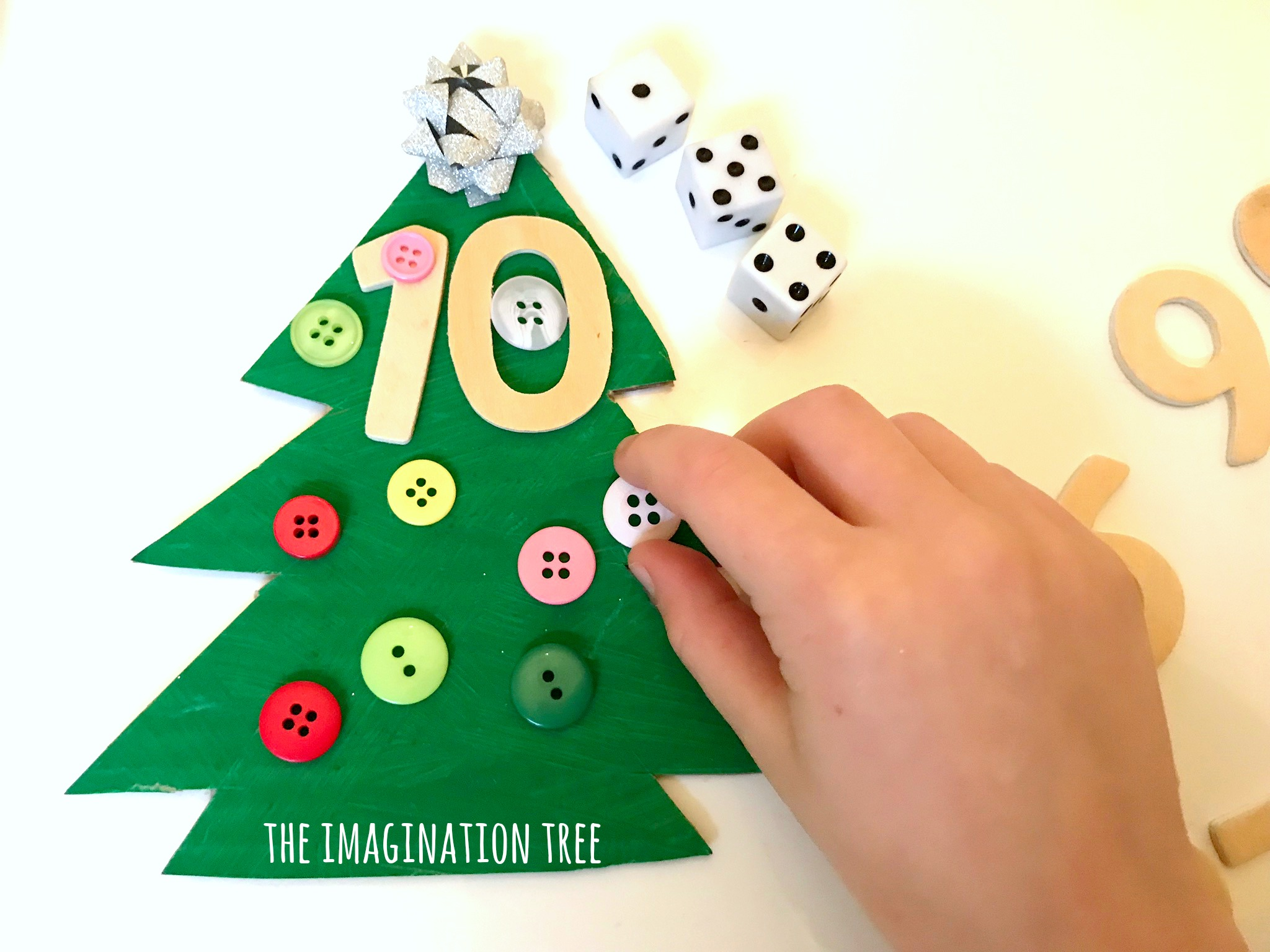 Christmas Tree Addition Game