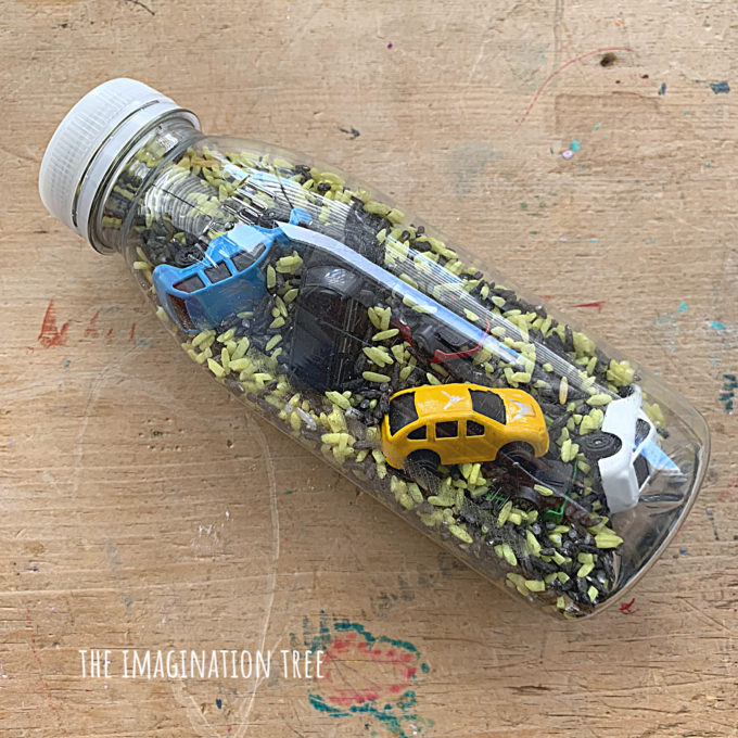 Car I-Spy Bottles