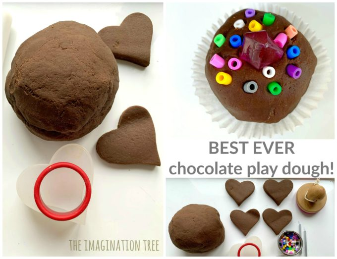 Best Ever Chocolate Play Dough Recipe