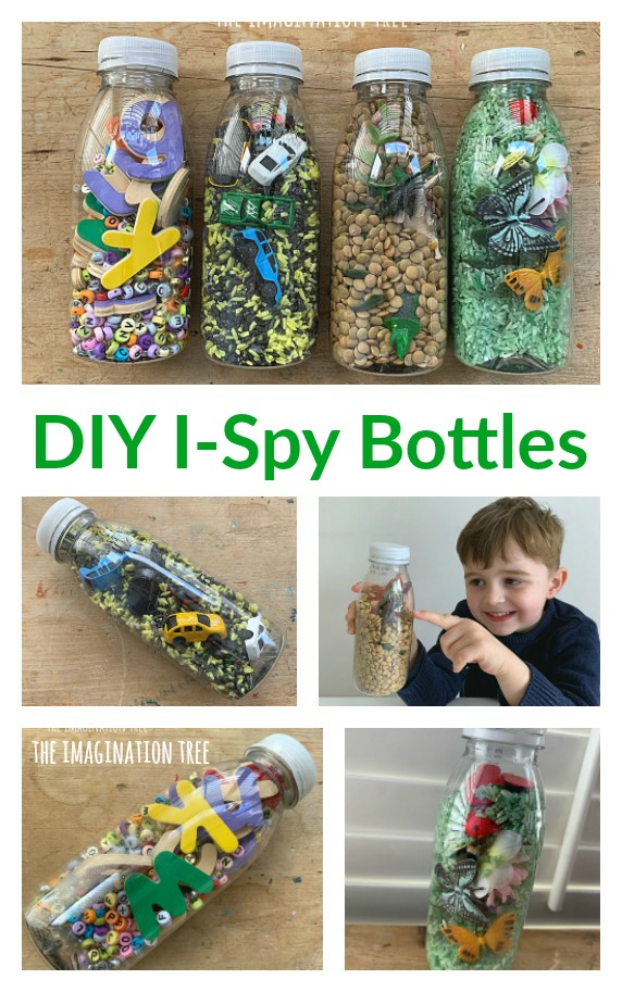 Make your own I-Spy Bottles