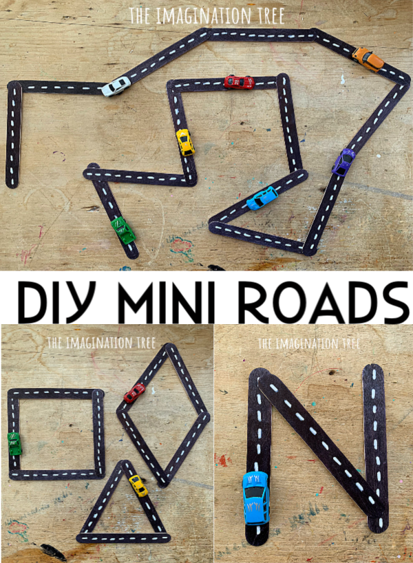DIY Mini Roads Set