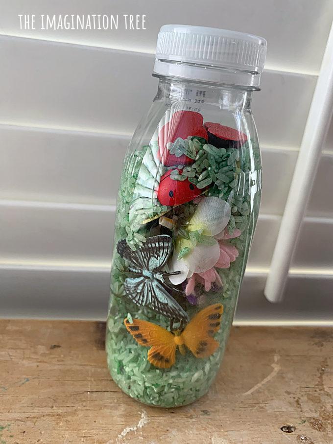 Garden I-Spy Bottles