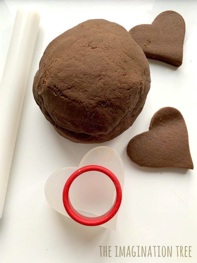 best ever chocolate play dough