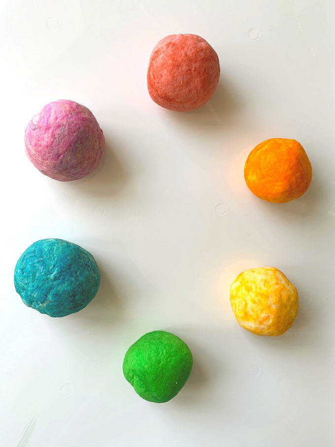 DIY gluten free play dough recipe