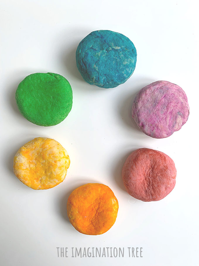 How to make gluten free play dough