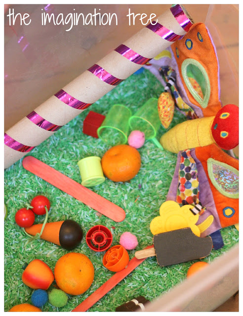 The Very Hungry Caterpillar Sensory Storytelling Activity