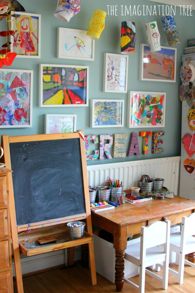 Make a Creative Space for Kids